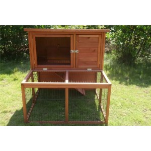 Large double storey Rabbit Hutch Ferret Cage WPR1000