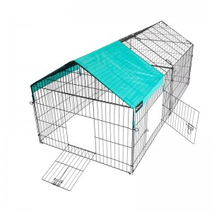 220 x103 x103cm Portable Galvanized Zinc Pet Chicken Coop Cage Enclosure (WPD163-3)