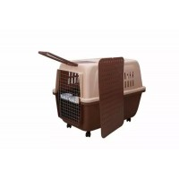 Dog Cat Crate Pet Carrier Cage With Tray