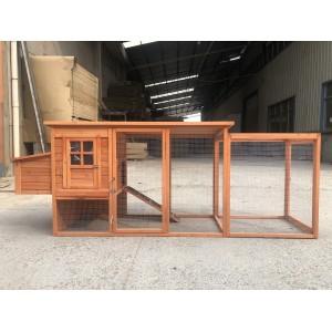 280CM Large Three Doors Chicken/chook/hen Coop & Rabbit hutch WP006L