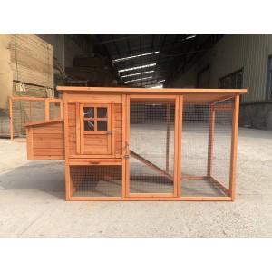 Budget Large Three Doors Chicken/chook/hen Coop & Rabbit hutch WP006
