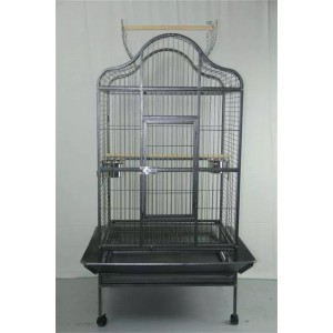 Extra Large Parrot Cage Bird Cage Aviary Open Roof with Top Gym Stand WPA097-2