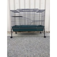 Large Metal Rabbit/Guinea Pig Cage with Stand and Wheel WPB084